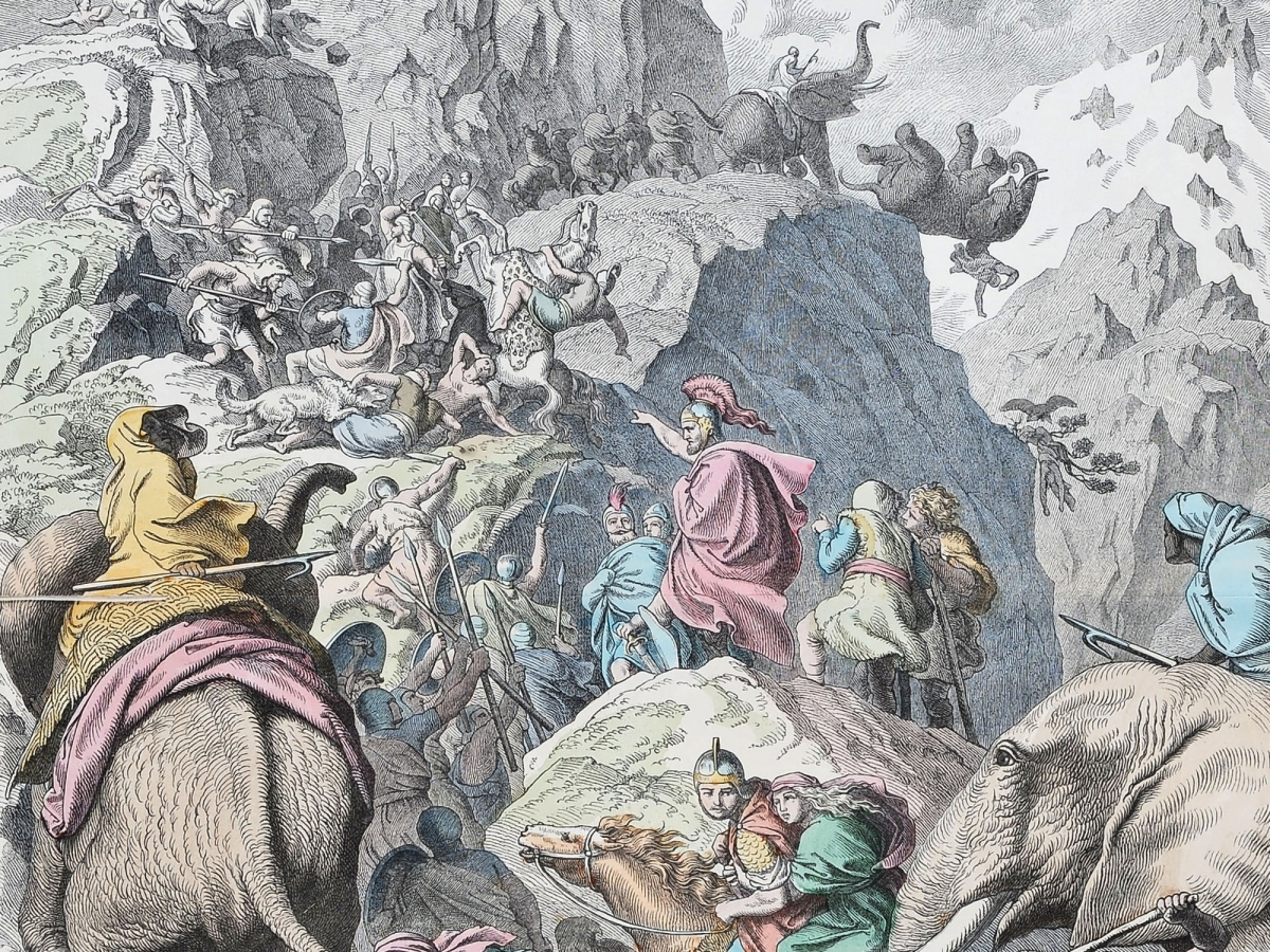 Alpenüberquerung Hannibal